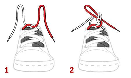 Cách buộc dây giày đá bóng không bị tuột 1