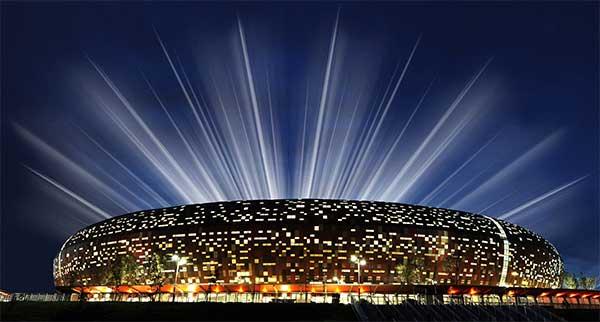 Soccer City, Nam Phi