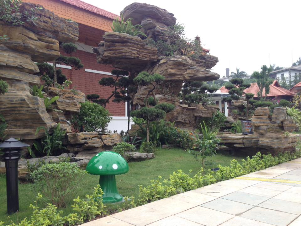 Dự án âm thanh loa giả đá khu nghỉ dưỡng Thanh Ba,Phú Thọ 3