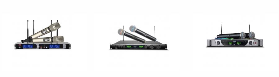 Micro cho dàn karaoke gia đình