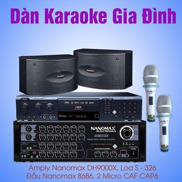 Tư vấn dàn karaoke chuyên nghiệp giúp gia đình ưng ý