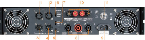 Amply công suất Soundking AA2200