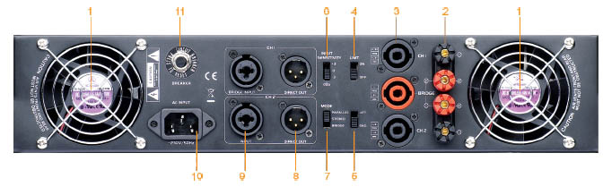 Amply công suất Soundking – MA1500