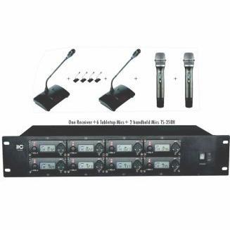 Bộ micro hội thảo không dây ITC TS-358H