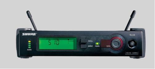 Micro không dây cài áo Shure SLX124/85/SM58