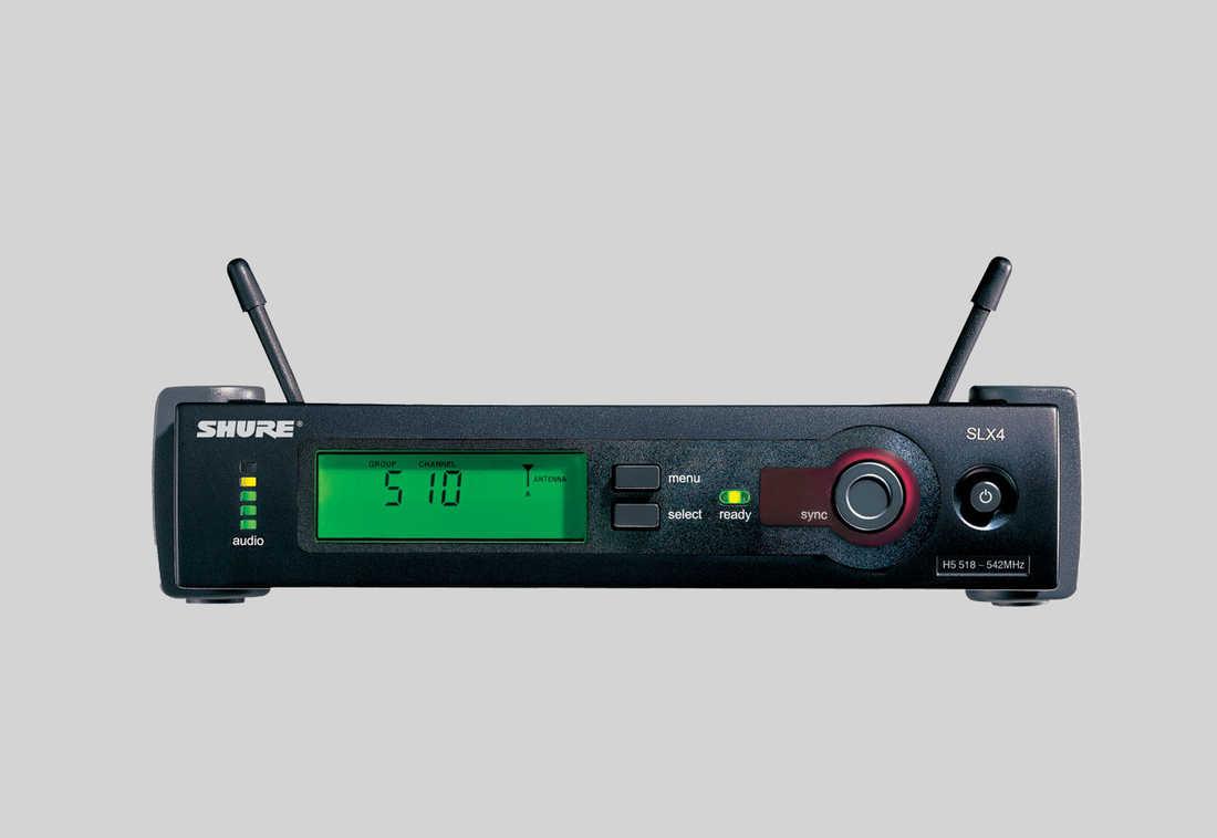 Micro không dây cài đầu Shure SLX14E/WH30