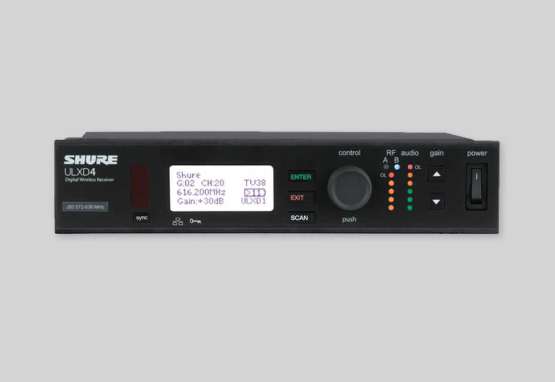 Micro không dây cầm tay Shure ULXD24/KSM9