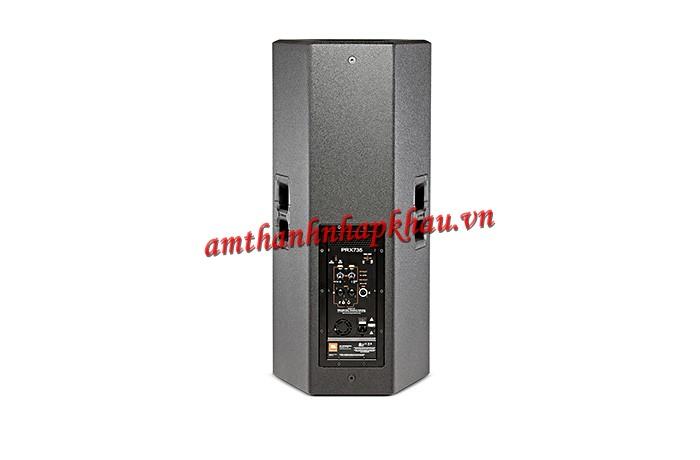 Giá, thông số kỹ thuật của loa liền công suất JBL PRX 735 và ứng dụng của nó 2